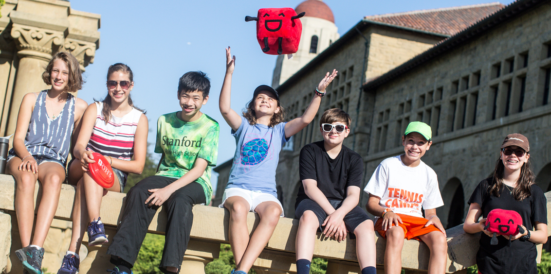Stanford OHS students at Summer@Stanford